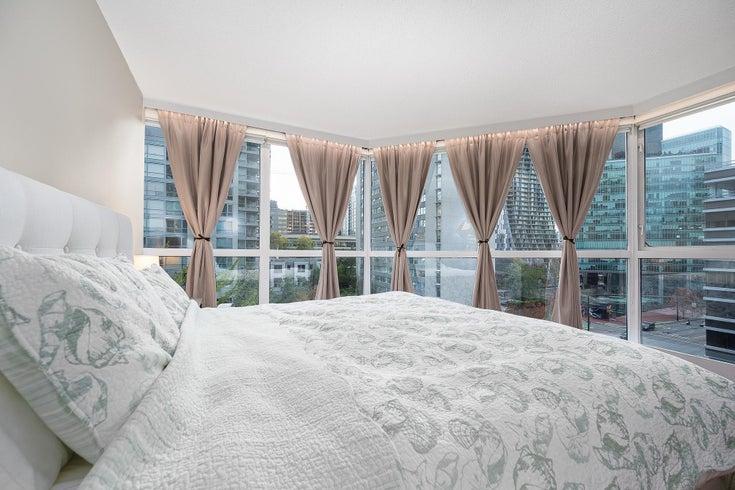 301 1415 W GEORGIA STREET - Coal Harbour Apartment/Condo for sale, 2 Bedrooms (R2625850)
