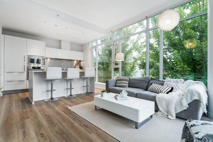308 1616 COLUMBIA STREET - False Creek Apartment/Condo for sale, 1 Bedroom (R2625873)