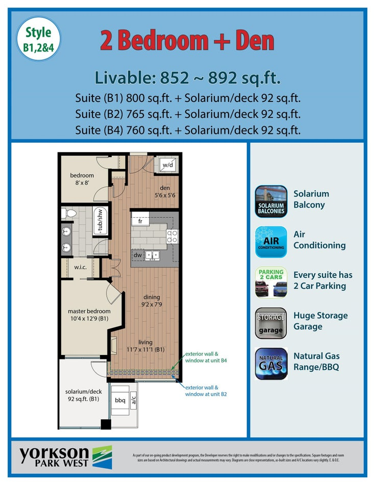 504 20328 86 AVENUE - Willoughby Heights Apartment/Condo for sale, 2 Bedrooms (R2625886)