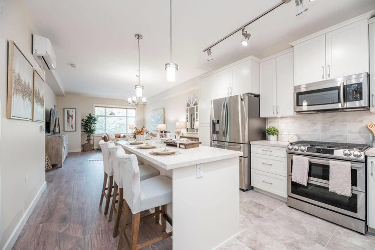 406 20376 86 AVENUE - Willoughby Heights Apartment/Condo for sale, 3 Bedrooms (R2626225)