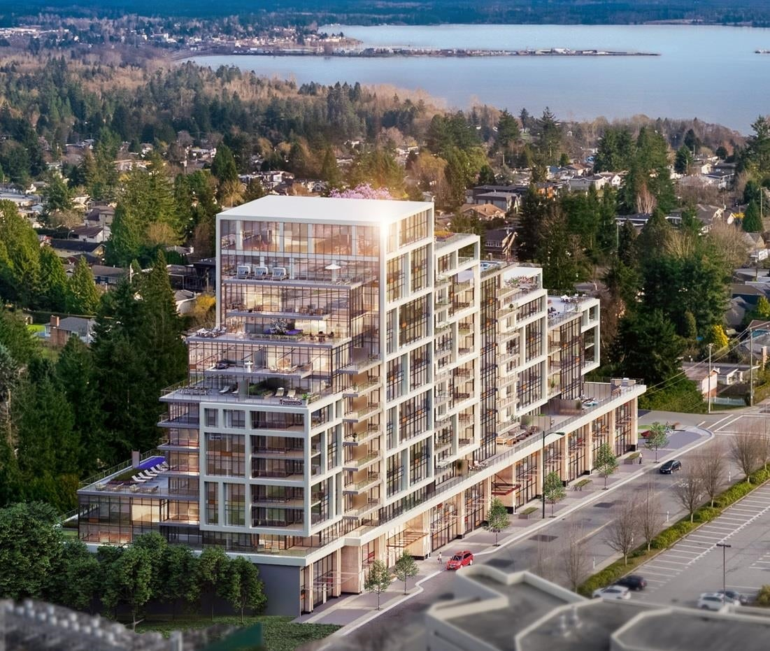 606 1526 FINLAY STREET - White Rock Apartment/Condo for sale, 1 Bedroom (R2626301)