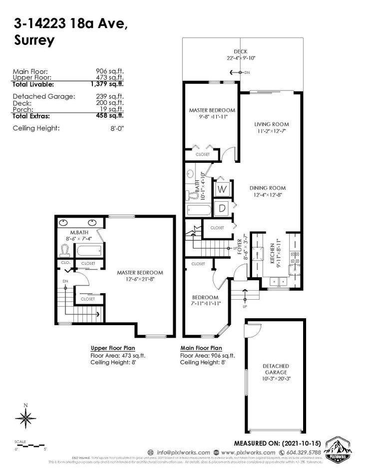 3 14223 18A AVENUE - Sunnyside Park Surrey Townhouse for sale, 3 Bedrooms (R2626382)