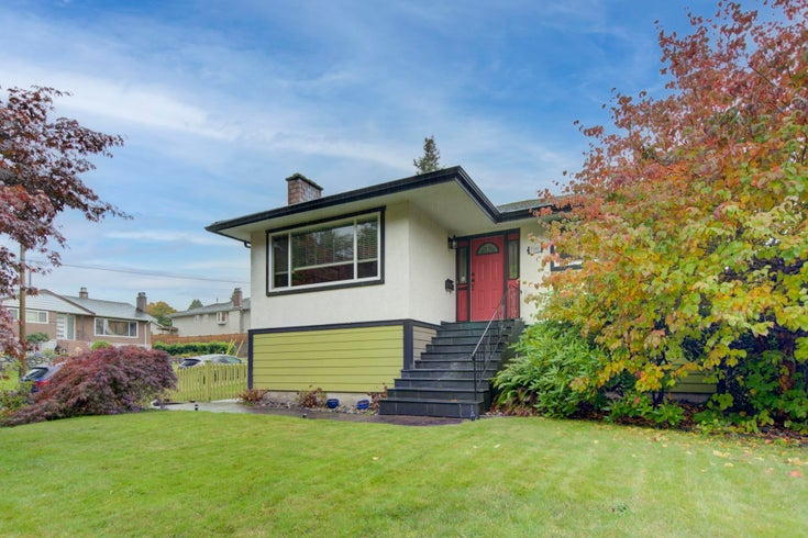 7391 NEWCOMBE STREET - East Burnaby House/Single Family for sale, 5 Bedrooms (R2626468)