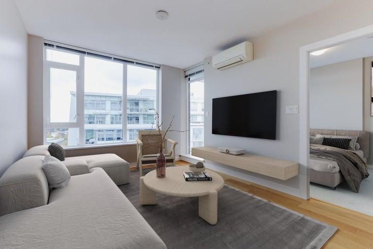 1201 6971 ELMBRIDGE WAY - Brighouse Apartment/Condo for sale, 1 Bedroom (R2626538)