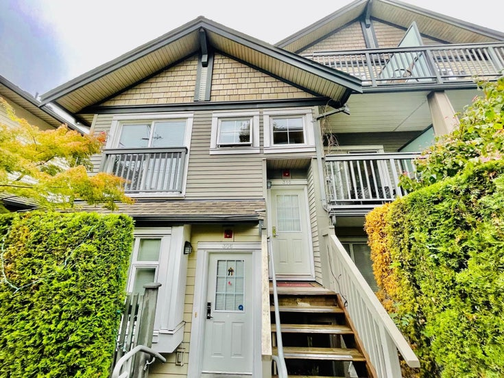 310 4468 ALBERT STREET - Vancouver Heights Townhouse for sale, 2 Bedrooms (R2626629)