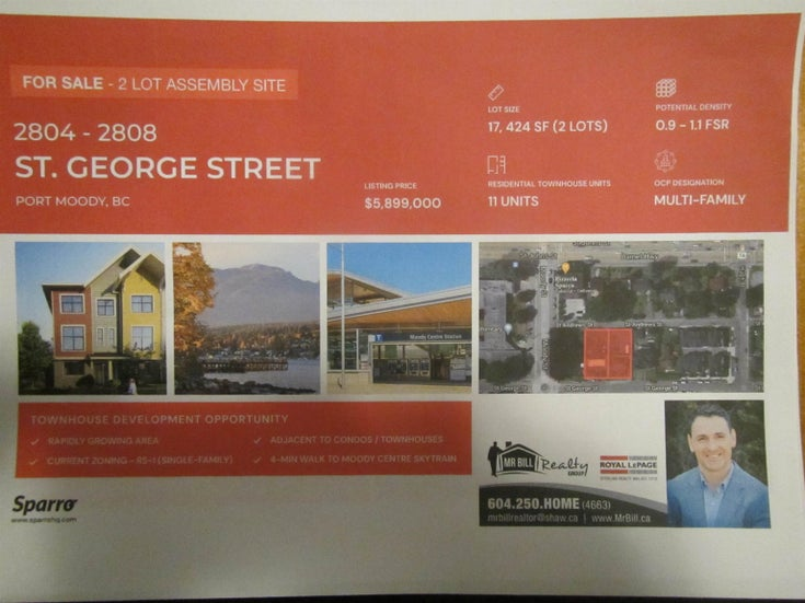 2806 ST GEORGE STREET - Port Moody Centre for sale(R2626806)