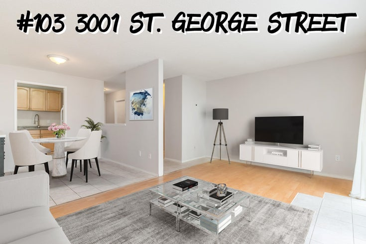 103 3001 ST.GEORGE STREET - Port Moody Centre Apartment/Condo for sale, 2 Bedrooms (R2626859)