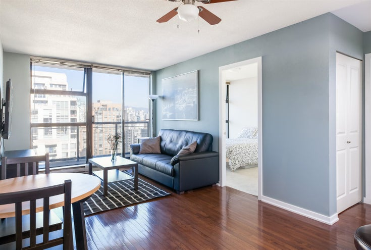 2302 1295 RICHARDS STREET - Downtown VW Apartment/Condo for sale, 1 Bedroom (R2626886)