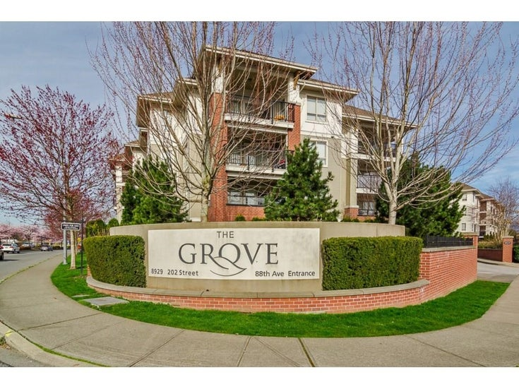 B206 8929 202 STREET - Walnut Grove Apartment/Condo for sale, 1 Bedroom (R2627038)