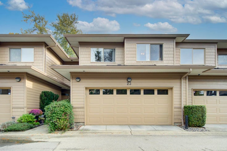 23 16655 64 AVENUE - Cloverdale BC Townhouse for sale, 3 Bedrooms (R2627055)