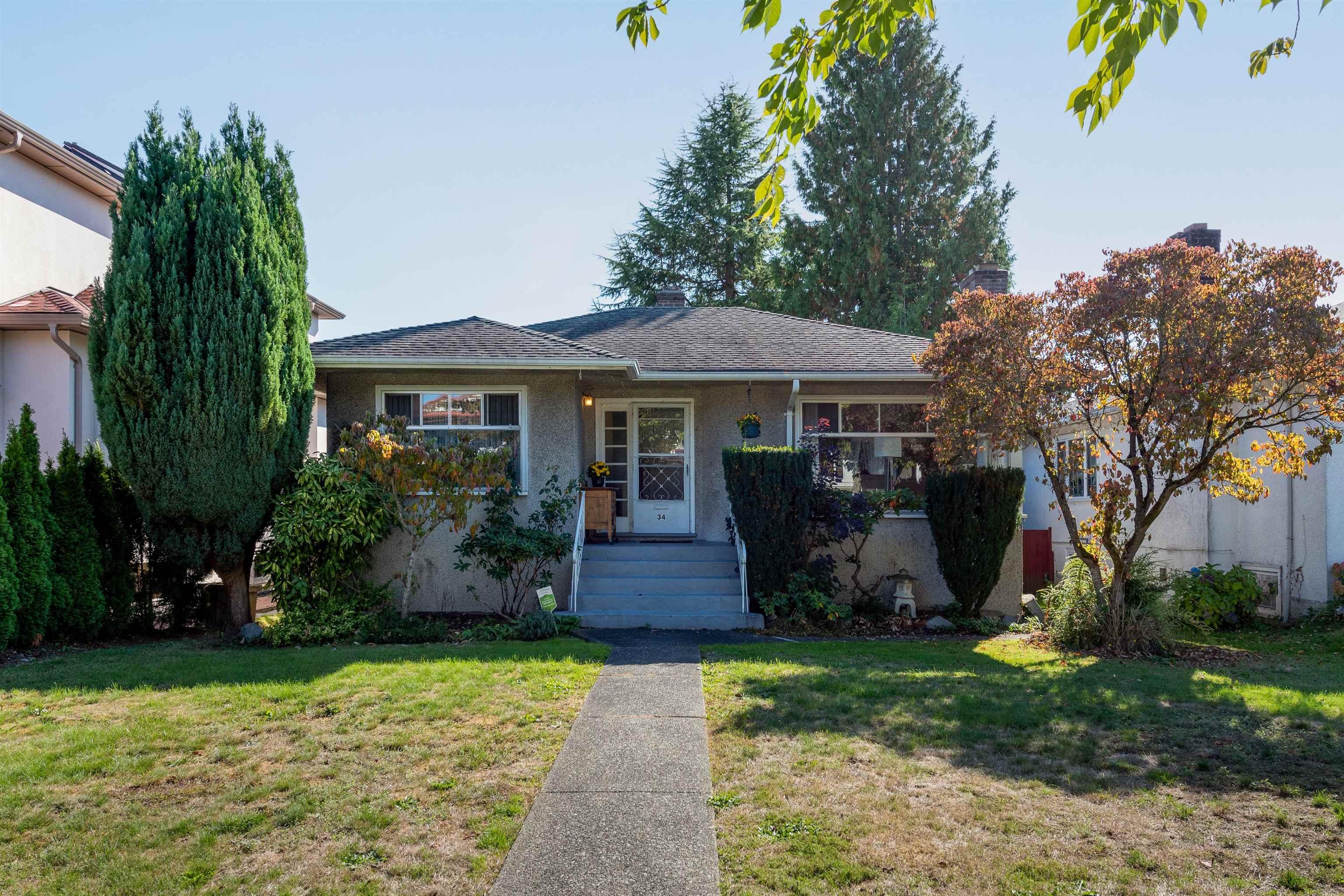 34 W 47TH AVENUE - Oakridge VW House/Single Family for sale, 4 Bedrooms (R2627161)