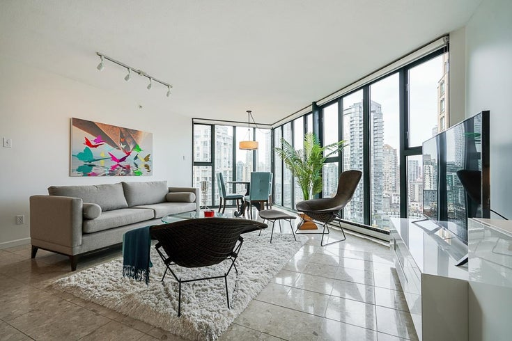 1804 1155 HOMER STREET - Yaletown Apartment/Condo for sale, 1 Bedroom (R2627258)
