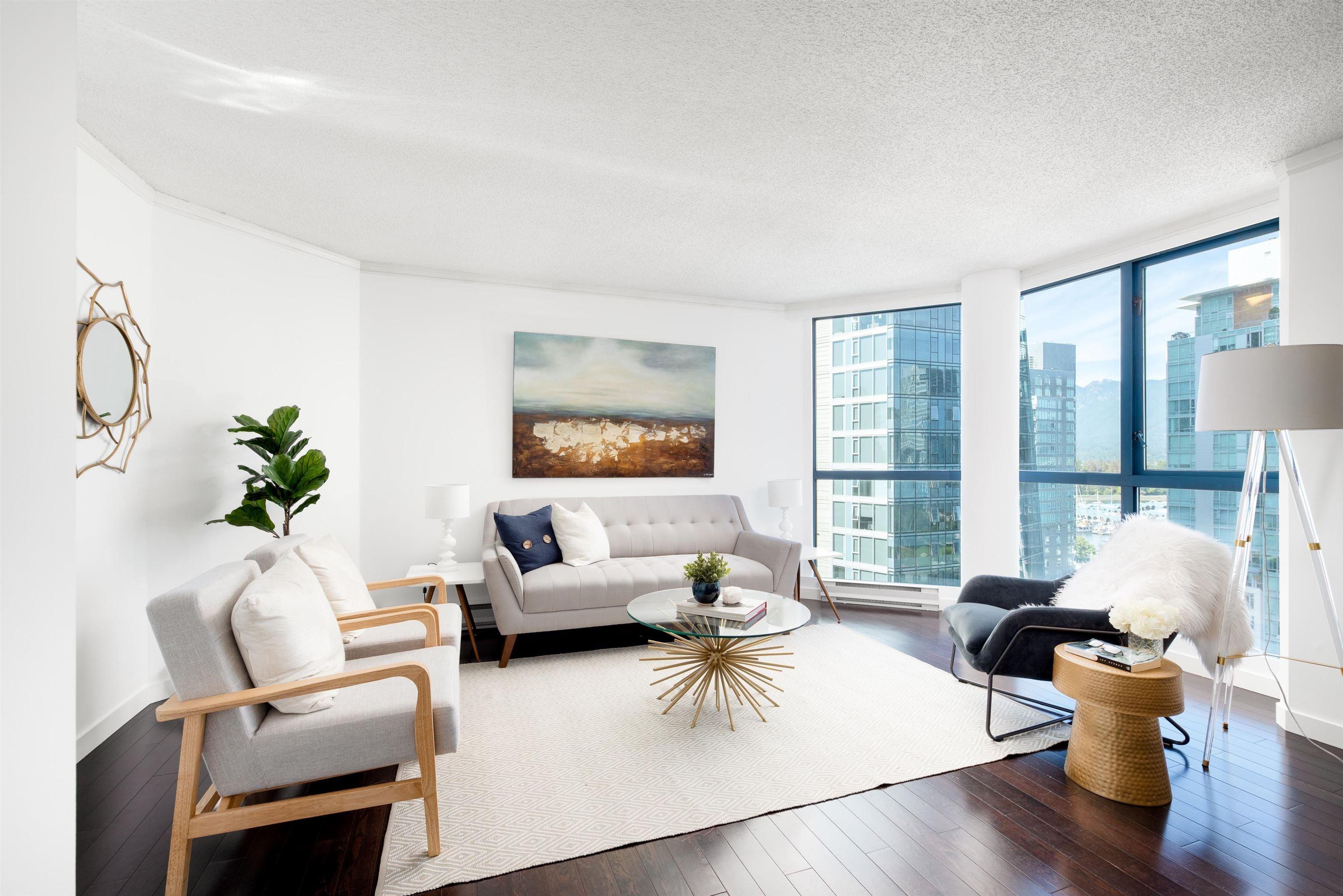 1101 1415 W GEORGIA STREET - Coal Harbour Apartment/Condo for sale, 2 Bedrooms (R2627289) - #1
