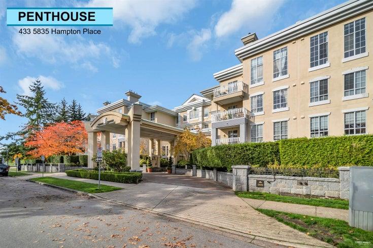 433 5835 HAMPTON PLACE - University VW Apartment/Condo for sale, 2 Bedrooms (R2627401)