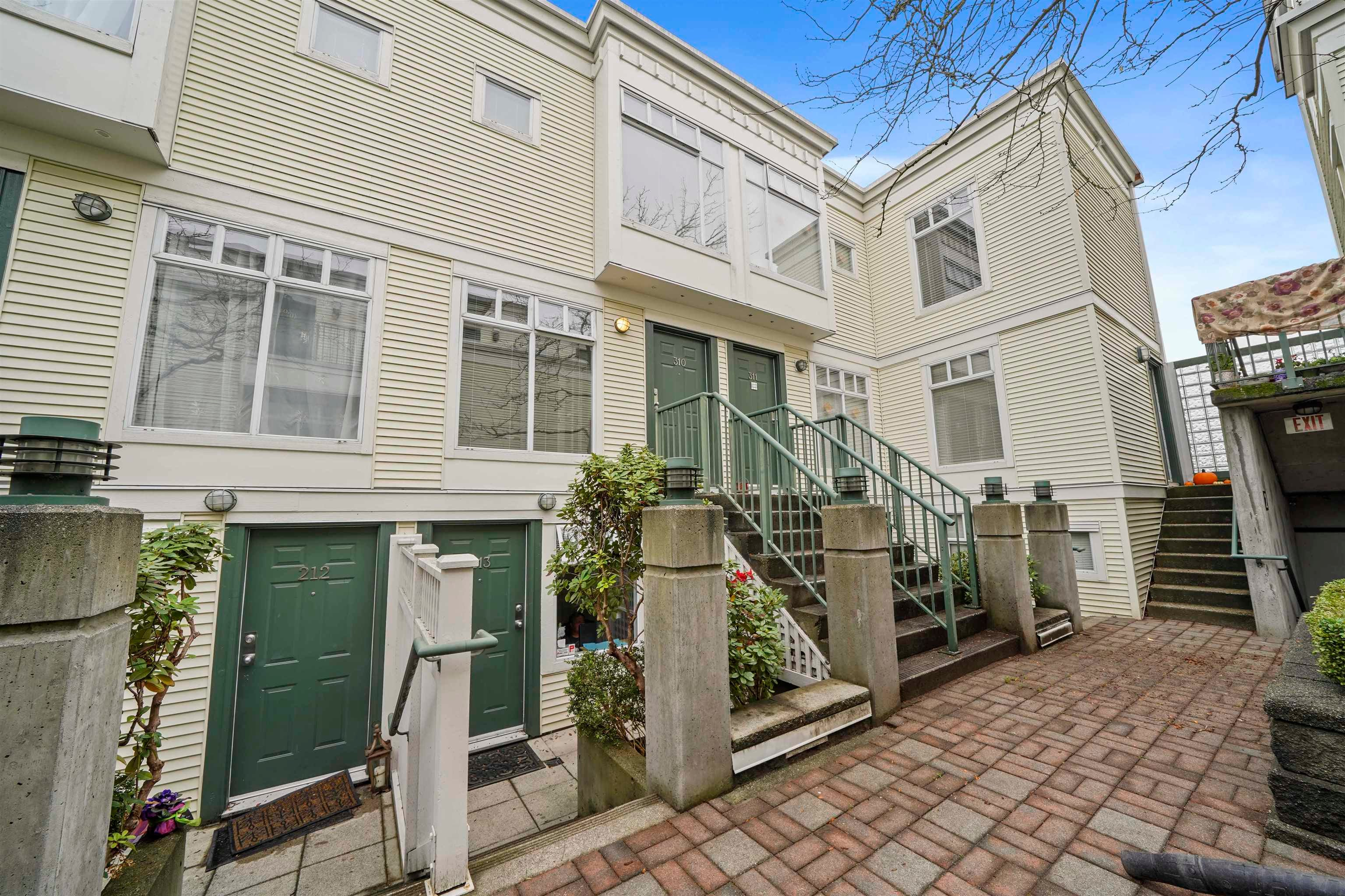 310 3727 W 10TH AVENUE - Point Grey Townhouse for sale, 2 Bedrooms (R2627558)