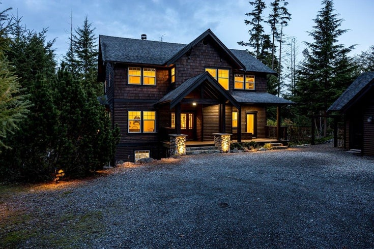 347 SALAL ROAD - Bowen Island House with Acreage for sale, 4 Bedrooms (R2627674)