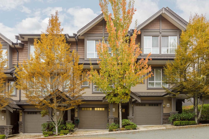 107 1480 SOUTHVIEW STREET - Burke Mountain Townhouse for sale, 3 Bedrooms (R2627697)