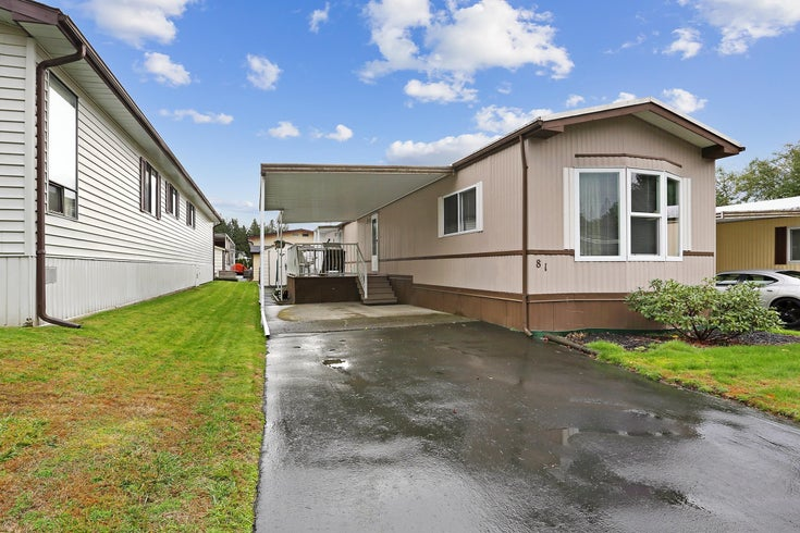 81 2315 198 STREET - Brookswood Langley Manufactured for sale, 2 Bedrooms (R2627785)