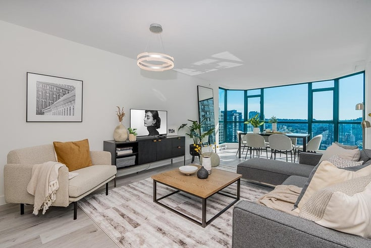 2102 888 HAMILTON STREET - Downtown VW Apartment/Condo for sale, 2 Bedrooms (R2627942)