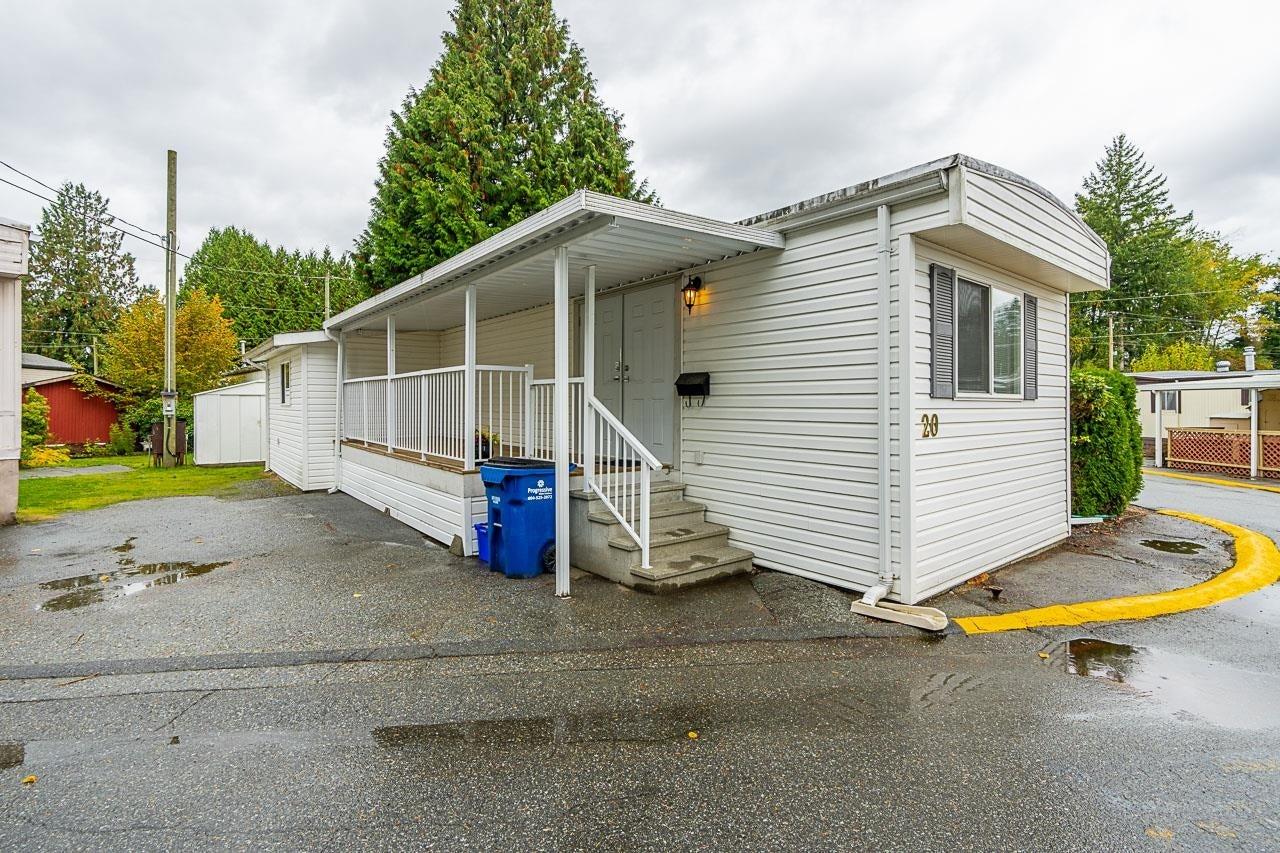 20 24330 FRASER HIGHWAY - Otter District Manufactured for sale, 2 Bedrooms (R2628015)