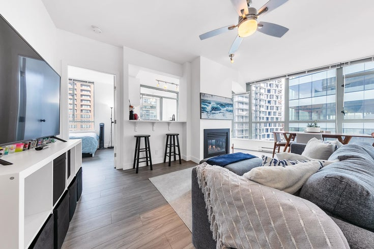 1002 1238 BURRARD STREET - Downtown VW Apartment/Condo for sale, 2 Bedrooms (R2628269)
