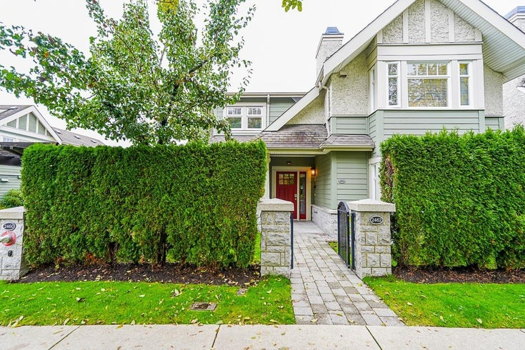 2462 SASAMAT STREET - Point Grey Townhouse for sale, 3 Bedrooms (R2628313)