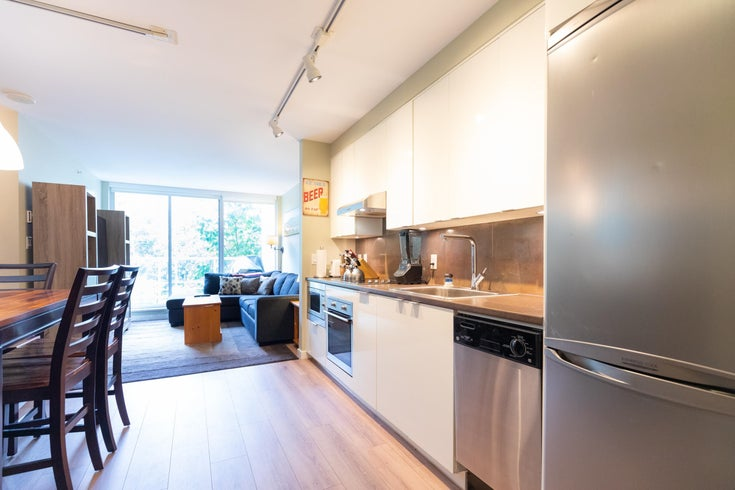 308 161 W GEORGIA STREET - Downtown VW Apartment/Condo for sale, 1 Bedroom (R2628320)