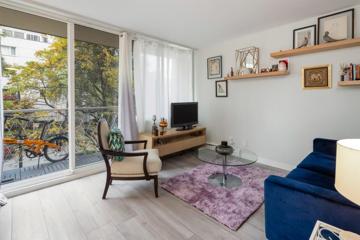 305 1100 HARWOOD STREET - West End VW Apartment/Condo for sale, 1 Bedroom (R2628513)