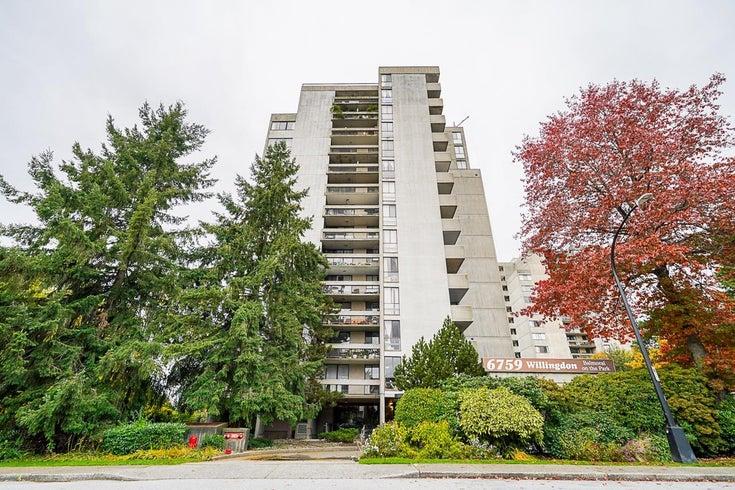 801 6759 WILLINGDON AVENUE - Metrotown Apartment/Condo for sale, 2 Bedrooms (R2628523)
