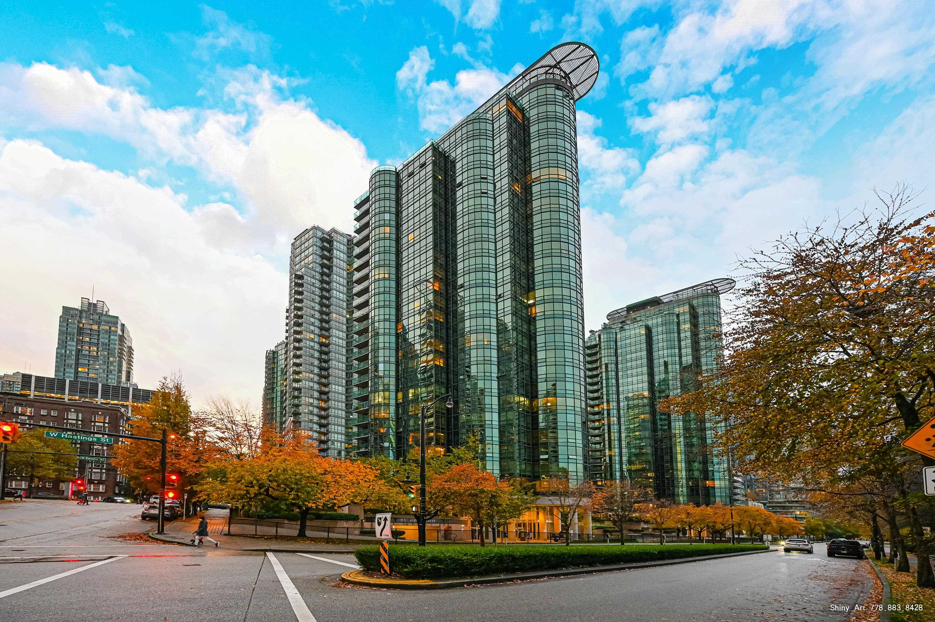 508 555 JERVIS STREET - Coal Harbour Apartment/Condo for sale, 1 Bedroom (R2628579) - #1