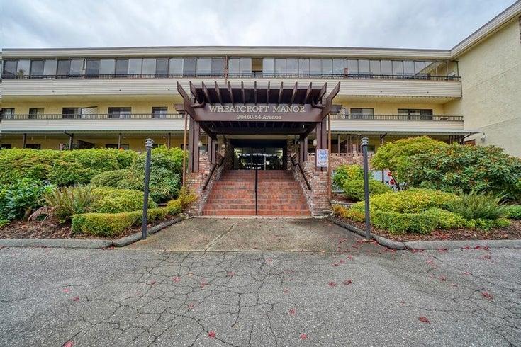 106 20460 54 AVENUE - Langley City Apartment/Condo for sale, 1 Bedroom (R2628709)