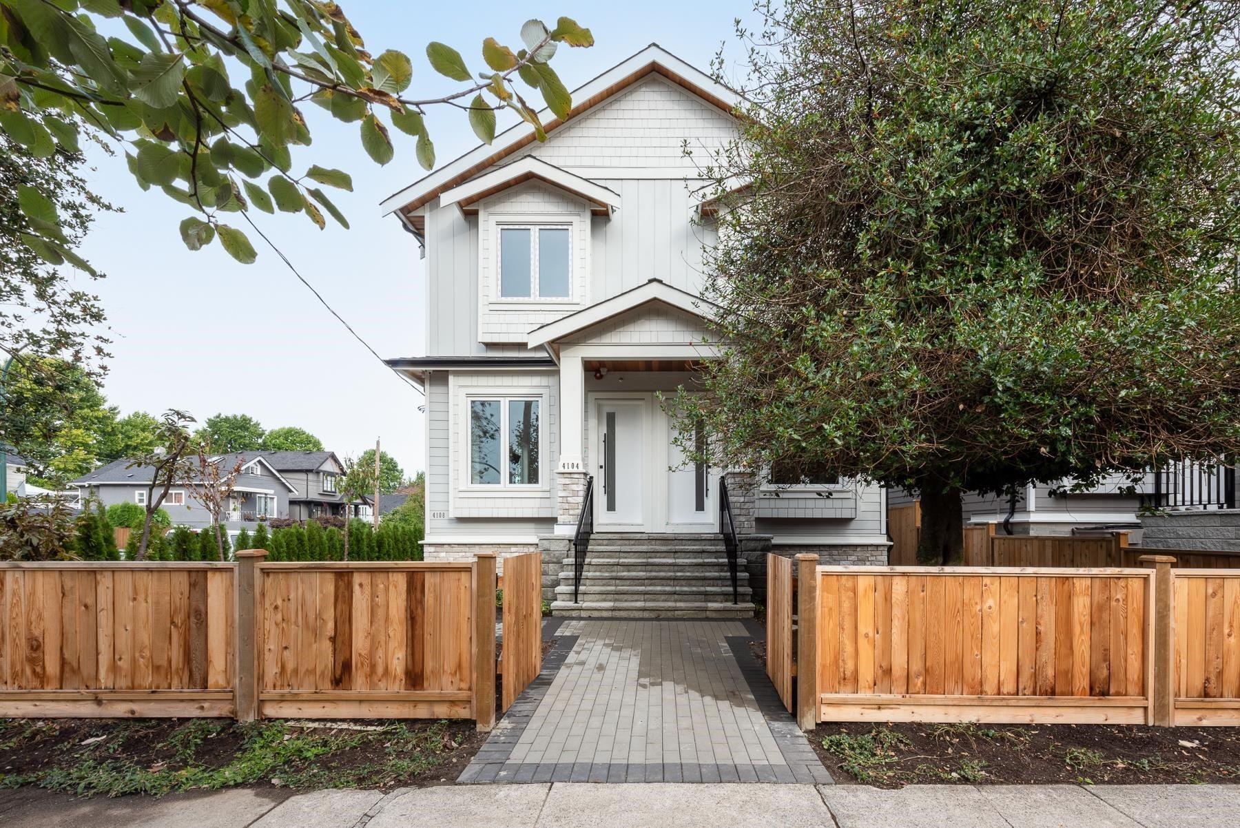 4106 PRINCE ALBERT STREET - Fraser VE 1/2 Duplex for sale, 4 Bedrooms (R2628864) - #1