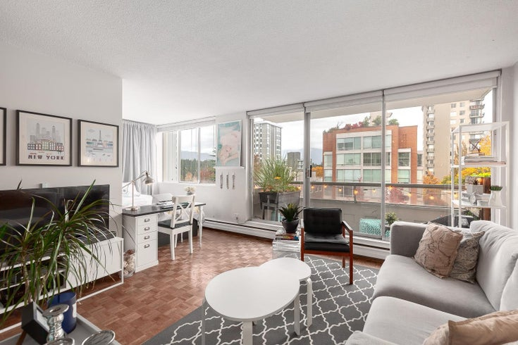 701 1967 BARCLAY STREET - West End VW Apartment/Condo for sale, 1 Bedroom (R2628865)