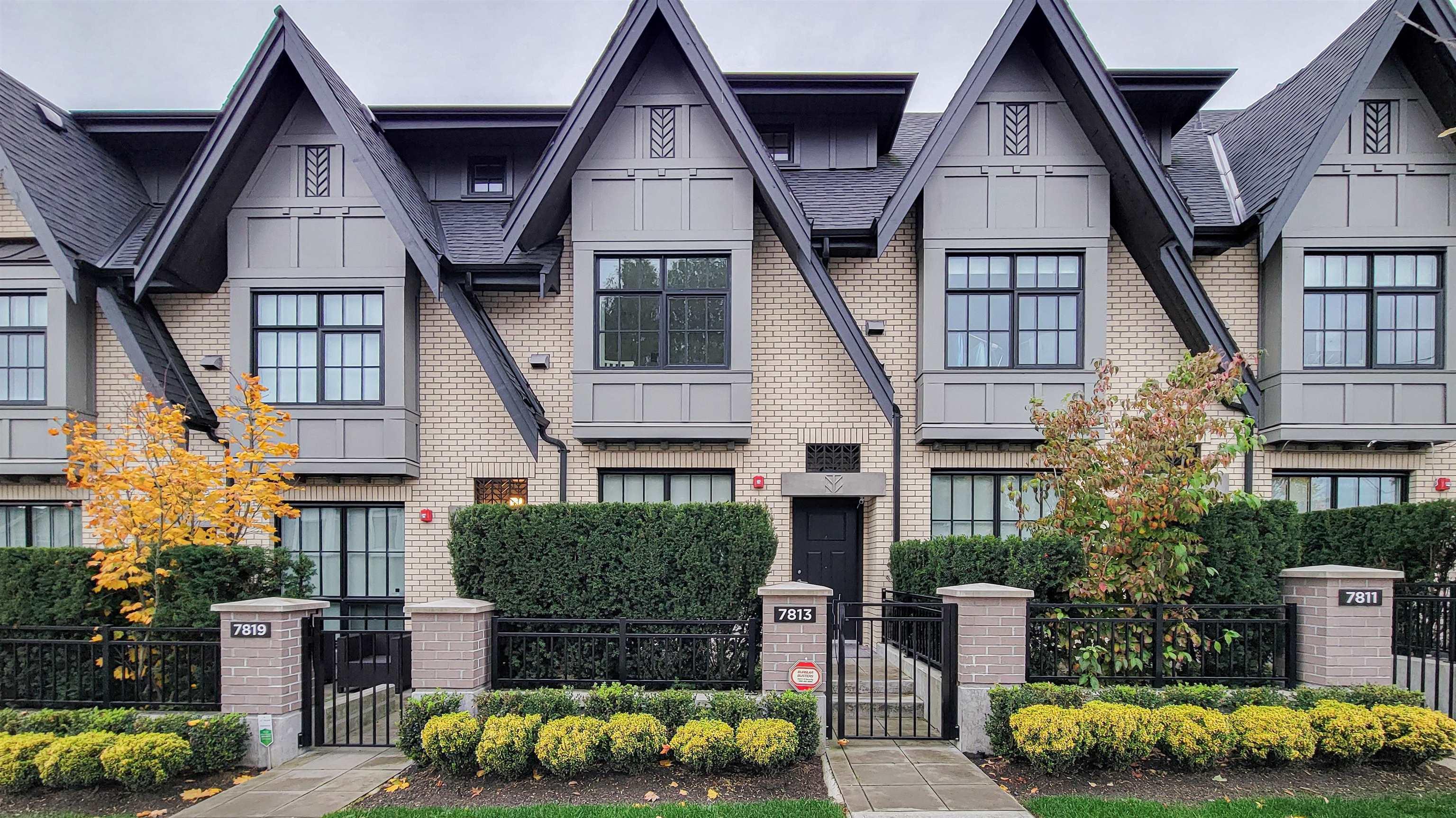 7813 OAK STREET - Marpole Townhouse for sale, 3 Bedrooms (R2629026) - #1