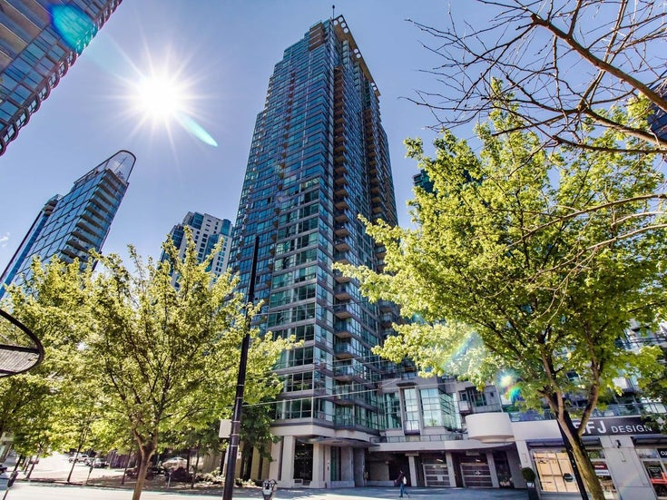 2202 1328 W PENDER STREET - Coal Harbour Apartment/Condo for sale, 2 Bedrooms (R2629055)