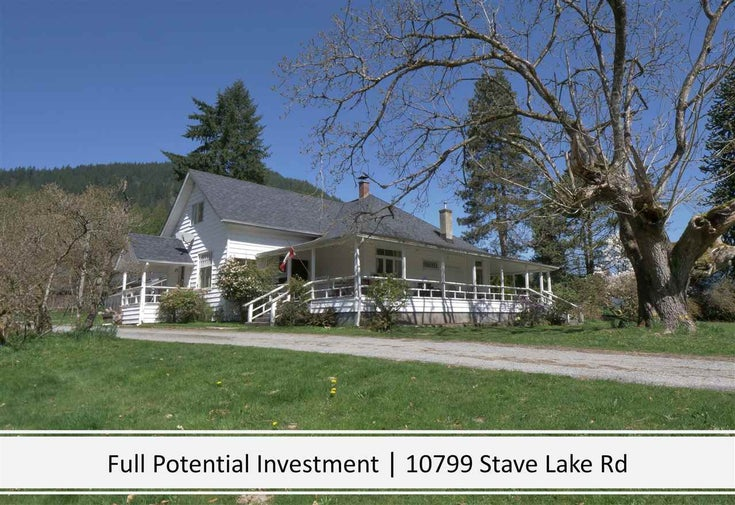 10799 STAVE LAKE ROAD - Durieu House with Acreage for sale, 2 Bedrooms (R2629206)