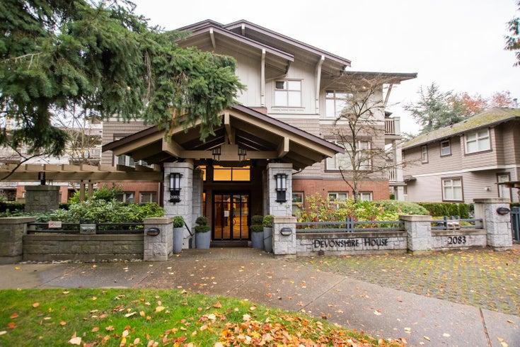 301 2083 W 33RD AVENUE - Quilchena Apartment/Condo for sale, 2 Bedrooms (R2629219)