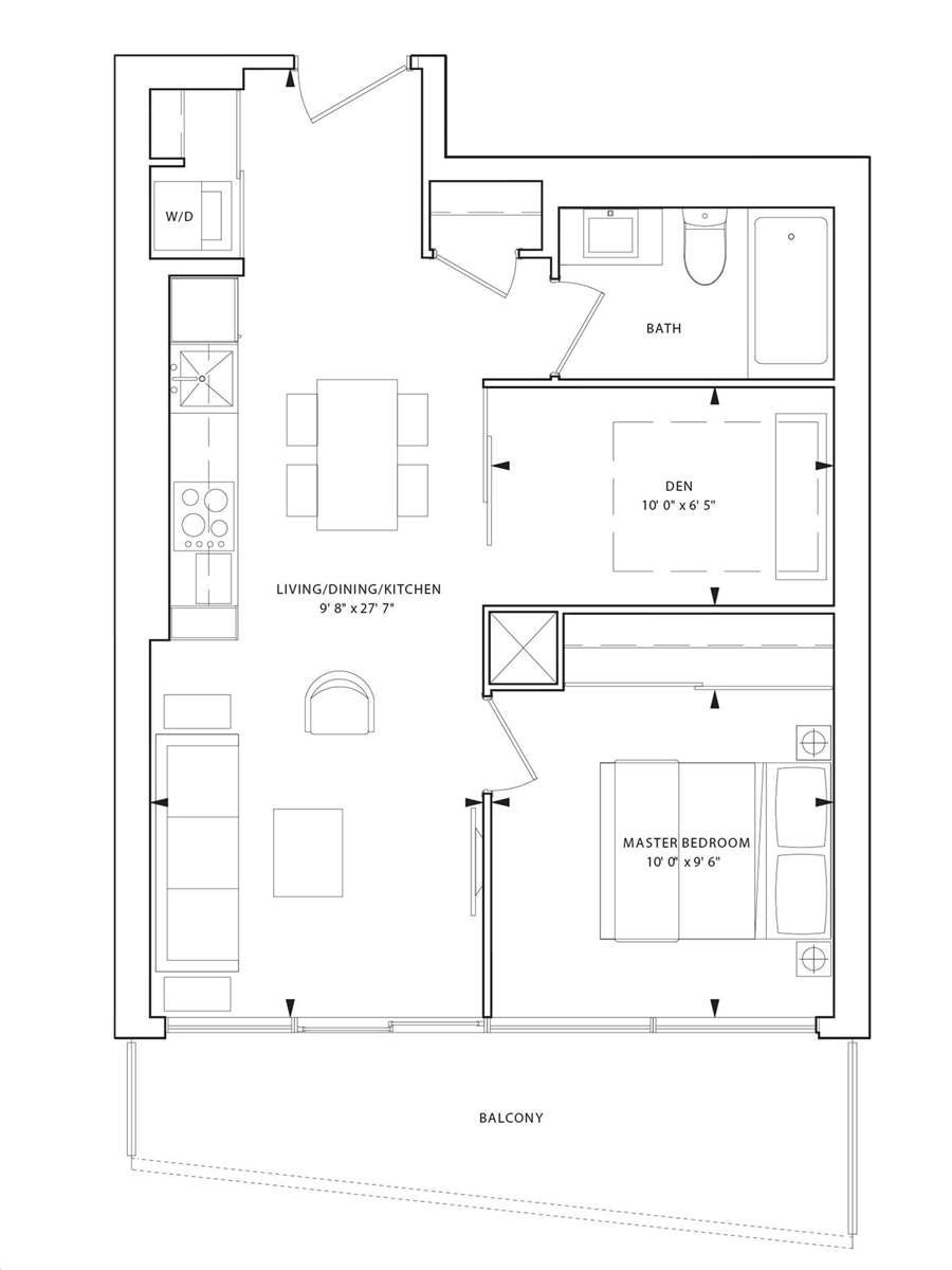1001 - 85 Wood St - Church-Yonge Corridor Condo Apt for sale, 1 Bedroom (C5221011) - #18
