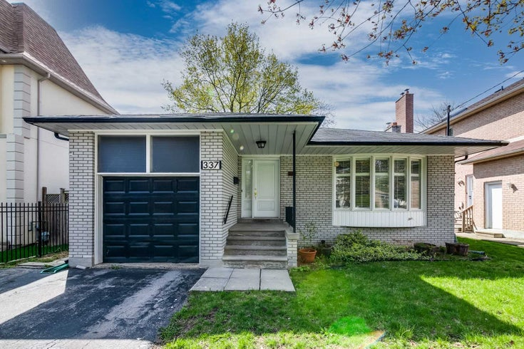 337  Hillcrest Ave - Willowdale East Detached for sale, 3 Bedrooms (C5325605)