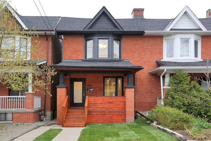 435 Brock Ave - Dufferin Grove Semi-Detached for sale, 3 Bedrooms (C5338383)