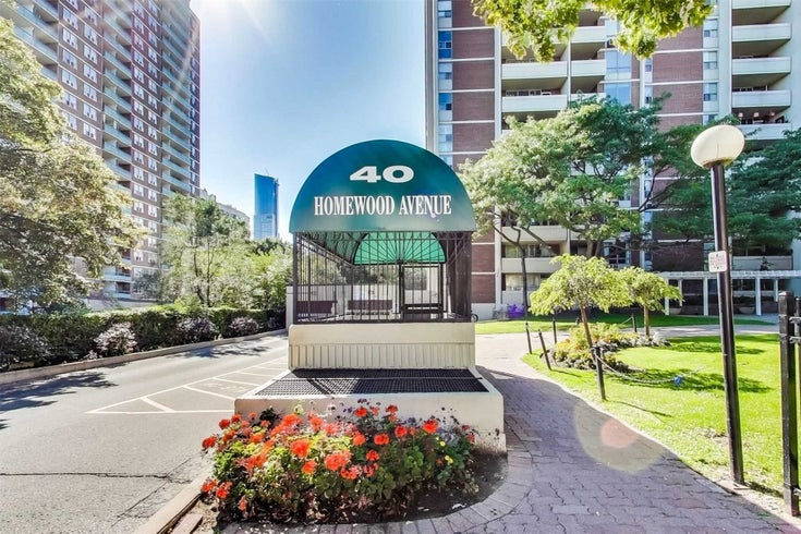 714 - 40 Homewood Ave - Cabbagetown-South St. James Town Condo Apt for sale, 1 Bedroom (C5348094)