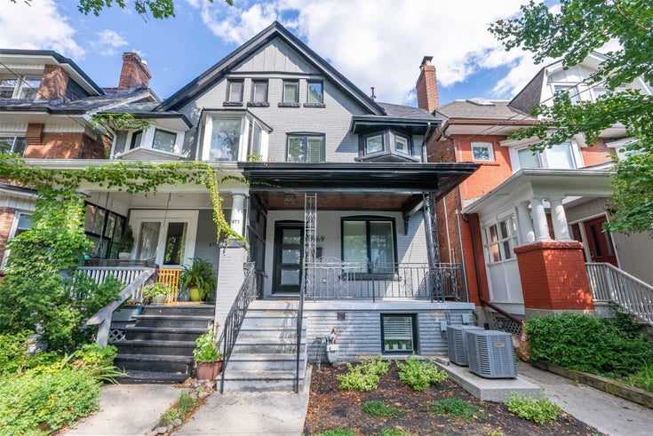 669 Euclid Ave - Palmerston-Little Italy Triplex for sale, 3 Bedrooms (C5368919)