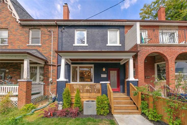 6 Robinson St - Trinity-Bellwoods Att/Row/Twnhouse for sale, 4 Bedrooms (C5372216)
