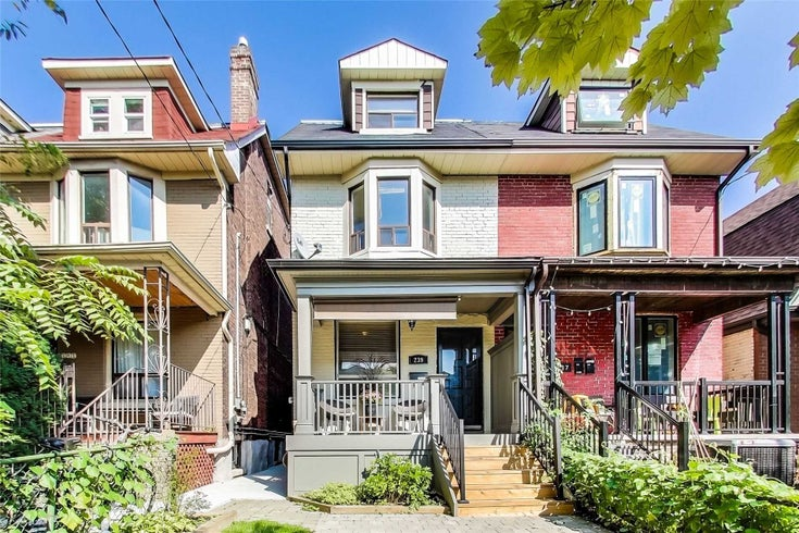 239 Beatrice St - Palmerston-Little Italy Semi-Detached for sale, 4 Bedrooms (C5376591)