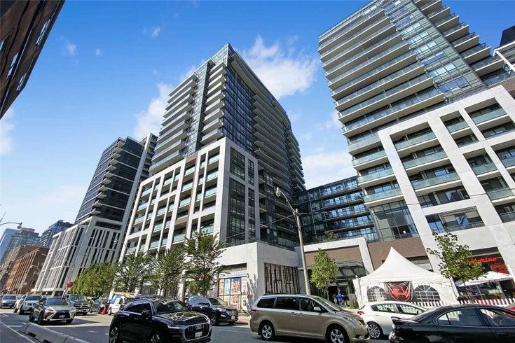 1110 - 460 Adelaide St E - Moss Park Condo Apt for sale, 1 Bedroom (C5376906)