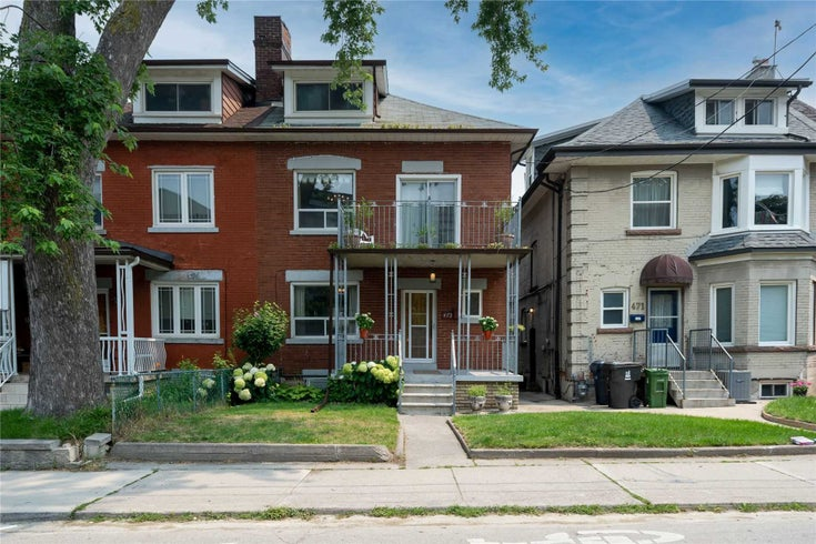 473 Shaw St - Palmerston-Little Italy Semi-Detached for sale, 5 Bedrooms (C5377425)
