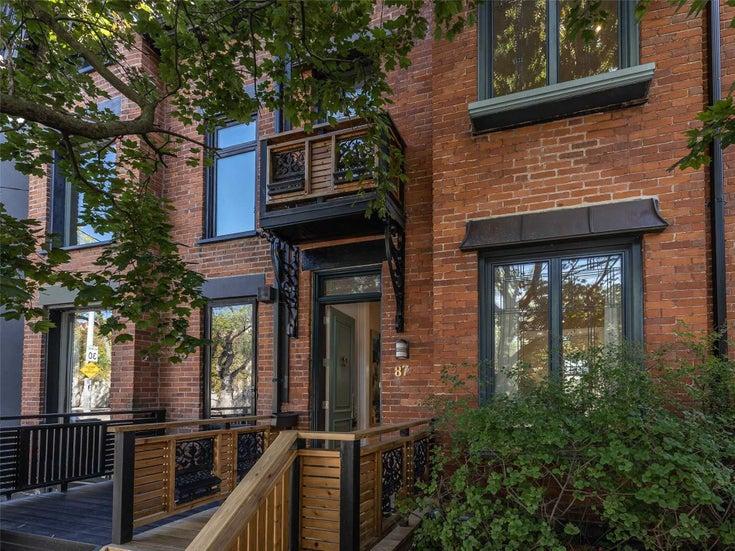 87 Marlborough Ave - Yonge-St. Clair Semi-Detached for sale, 4 Bedrooms (C5377522)