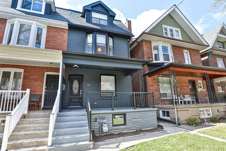 236 Grace St - Palmerston-Little Italy Semi-Detached for sale, 5 Bedrooms (C5377845)
