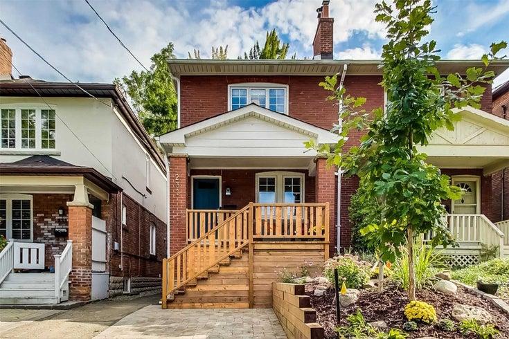 233 Castlefield Ave - Yonge-Eglinton Semi-Detached for sale, 3 Bedrooms (C5378587)