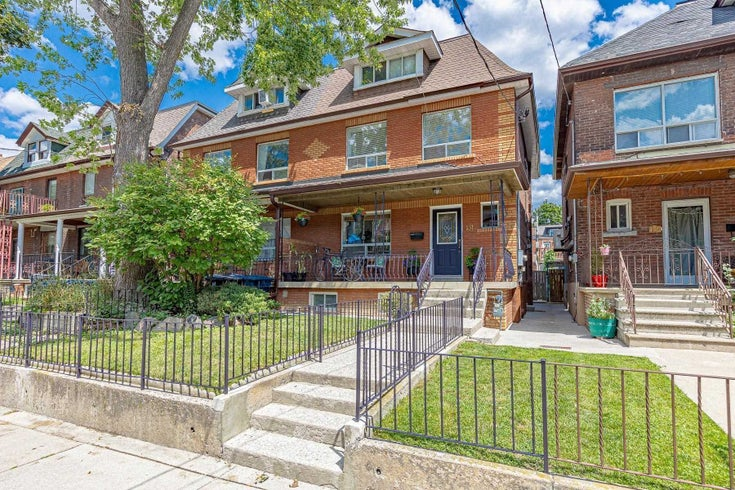 131 Beatrice St W - Palmerston-Little Italy Semi-Detached for sale, 4 Bedrooms (C5382115)
